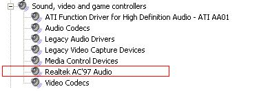 Choosing Correct Audio Drivers for Your Windows XP Installation