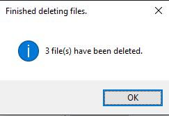 Duplicate Cleaner 4 Delete Files Complete