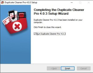 Duplicate Cleaner 4 Installation Step 6 Install Complete