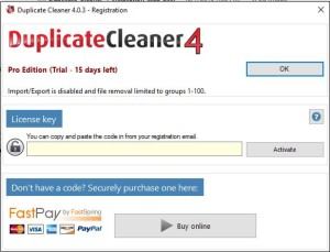 Duplicate Cleaner 4 Start Registration