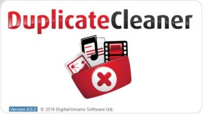 Duplicate Cleaner 4 Start Welcome Logo
